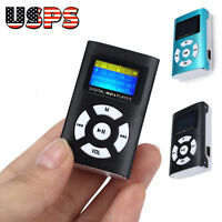 Music 32GB Mp3 Usb Player Lcd Screen Fm Radio Voice Recorder Micro SD TF Card US