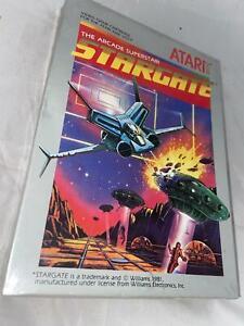 Atari 2600 VCS Original Sealed Stargate Boxed Cartridge Video Game 1981