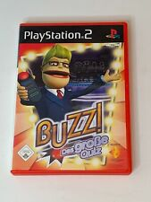 Buzz! The Big Quiz Playstation 2 PS2 PAL German Version 2006 Complete Game