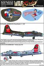 Kits World Decals 1/72 BOEING B-17G FLYING FORTRESS Texas Raiders & Yankee Lady