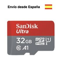 Tarjeta de memoria 32Gb SanDisk clase 10 micro sd teléfonos móviles smartphone