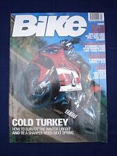 Bike Magazine - Jan 2001 - Bonneville - Walker's GSX-R750