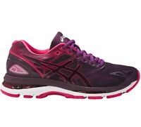 Asics Gel-Nimbus 19 Neutral Running shoe Pink/Purple/White [T750N-9020] Womens 5