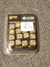 Allied Star D6 Dice Pack Bolt Action 2nd Second Edition Wwii Warlord Games New