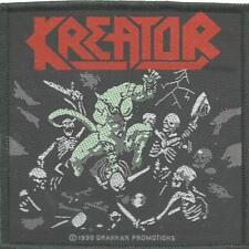 KREATOR pleasure to kill 1990 - WOVEN SEW ON PATCH official merchandise