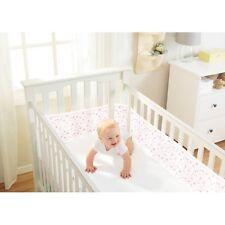 BreathableBaby Mesh Crib Liner - Twinkle Pink