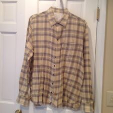 Men's RAG & BONE Tailored Workwear Plaid Shirt - Size XXL EUC!