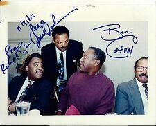 Bill Cosby, Rev Jesse Jackson & Rev Al Sharpton signed 8x10 photo - Rare Vintage