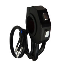 Daytona cnc universal switch motocicleta manillar interruptor negro con dos sonda