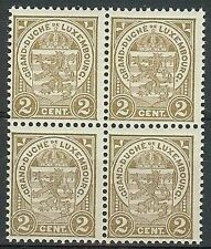 Luxembourg Block Stamps