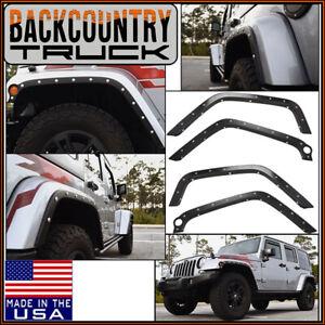 BackCountryTruck Body Armor Fender Trim Flares fits 2007-2018 Jeep Wrangler JK