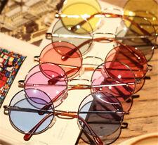 Vintage Retro Women Round Plastic Glasses Lens Sunglasses Eyewear Frame Glasses