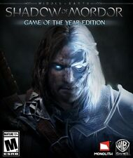 Middle Earth: Shadow of Mordor GOTY PC Mac [Steam Key] Game+ALL DLC
