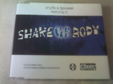SHY FX & T-POWER - SHAKE UR BODY - 5 MIX UK CD SINGLE - SHYFX TPOWER