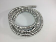 "Wire Loom 1/2"" Diameter 72"" Long Universal (Chrome)"
