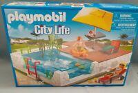 Playmobil 5575 Einbau - Schwimmingpool City Life für Luxuxvilla 5574 NEU & OVP
