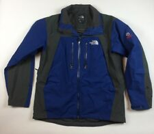 The North Face Summit Series Jacket Coat Large Shell Gore Tex Blue Gray  HH8