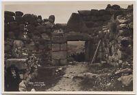 Grecia Mycenae Lions Gate Vintage Silver Stampa 10x15cm Verso 1925