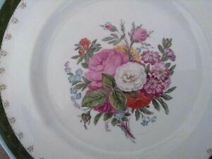 Antique Russia  Russian imperial  Kuznetsov beautiful  Porcelain Plate
