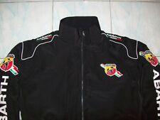 NEU ABARTH Italy Fan- Jacke schwarz jacket veste jas giacca jakka