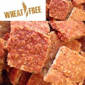 🐶The Cornish Barkery Natural Dog Treats WHEAT FREE Peanut Butter 🥜 Flapjack