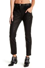 CURRENT/ELLIOTT Utility Leather Slouchy Skinny Jeans Pants 29 1895-2107 MSRP$898