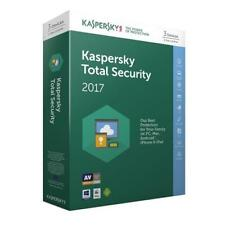 Kaspersky Total Security 2017 CD - 3 Devices 1 Year License