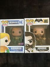funko pop lot of 2! Aquaman 16 And Aquaman 87
