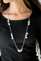 Paparazzi Jewelry Necklace ~Musical Expression - Silver
