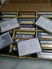 Grateful Dead Live 30+ Cassette Tapes Lot - With Homemade case and stickers