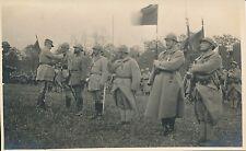 Carte Photo Guerre WW1 - Revue de Troupes - GV 61