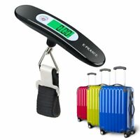 E-Prance Electronic Portable Luggage Scale - Hand Held Hanging Scale - NEW 50KG