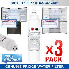 3X Genuine Replacement Fridge Filter for  LG ADQ73613401, LT800P  Original part