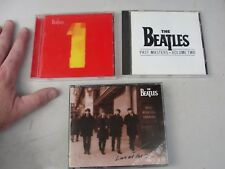 BEATLES cd LOT 3 1 one past masters volume 2 two live at the bbc beattles