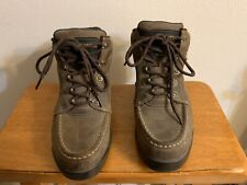 John Deere Mens Brown Work & Safety Boots Size 7.5