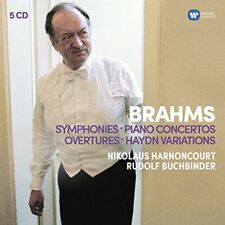 Buchbinder Harnoncourt / BPO and Concertgebouw - Brahms: Symphonies, [CD]