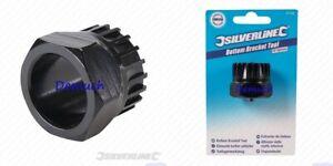 New Bike BOTTOM BRACKET REMOVAL TOOL Socket ISIS Shimano 20 Tooth Spline Spanner