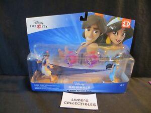 Disney Infinity Originals 2.0 Aladdin & Jasmine Toy box Video Game Accessories