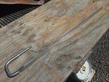 Vintage Stainless Steel Milk Tank Measuring Stick 27 Farm Barn Dairy Farmer