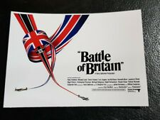 WW2 WWII Battle of Britain BOB Classic 70s Movie Poster Large Car Bumper Sticker
