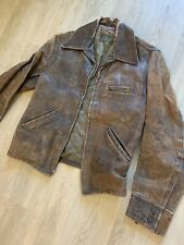 1930's Windward Horsehide Leather Jacket