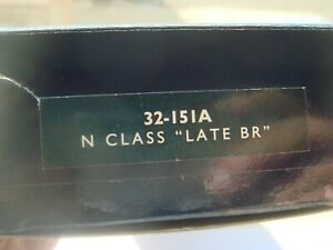 """Bachmann N Class """"Late BR"""" cat 32-151A  RN 31816 New Boxed Mint Condition."""