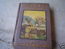OLD Book Buffalo Bill's Boyhood by Elmer Sherwood
