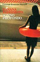 LIBRO=SONNO PROFONDO=BANANA YOSHIMOTO