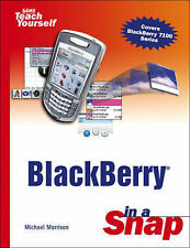 BlackBerry in a Snap by Morrison, Michael