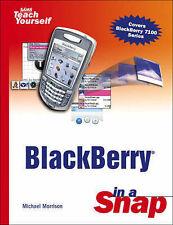BlackBerry in a Snap by Morrison, Michael
