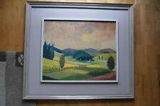 Landscape by the Belgian artist Robert Arens (1905-1998) Sauerland 58