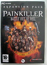 PAINKILLER battle out of hell - PC - ver. ITALIANA - Ottimo - Rarissimo!