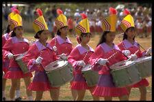 446034 tamburo bambine l'indipendenza giorno PARADE rantepao A4 FOTO STAMPA