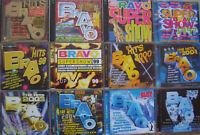 BRAVO- 12 Jahreszusammenstellungen- zus.24 CDs- lesen!